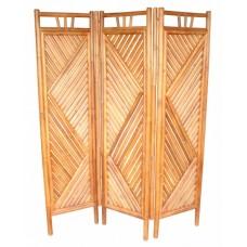 Paravan bambusový natural 3