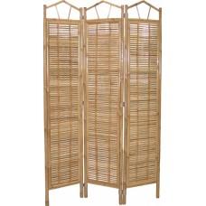 Paravan bambusový natural-mierne vady-50% zľava
