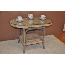 Ratanový stôl Roma