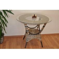 Ratanový stôl Wanuta , wicker mix