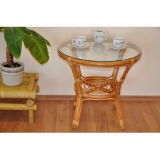 Ratanový stôl Bahama medový
