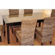 Ratanový stôl Banny