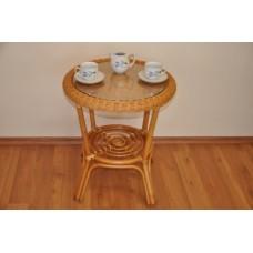 Ratanový stôl Fabion,medový