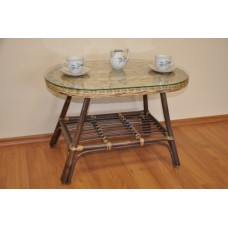 Ratanový stôl Fabion ovál,wicker mix
