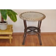 Ratanový stôl Fabion,wicker mix
